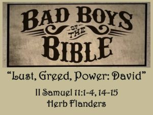 Bad Boys of the Bible